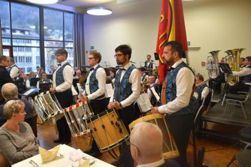 Musik und Drum Corps